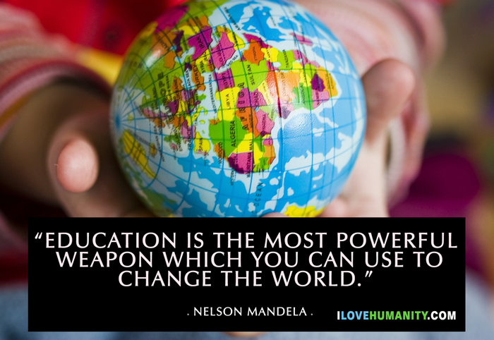 The Most Powerful Weapon On Earth In The Human Soul On: Nelson Mandela